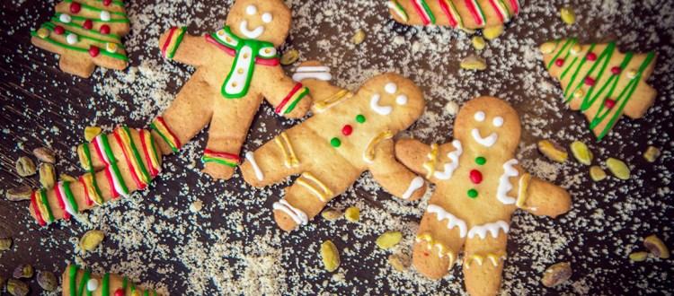 Biscoitos natalinos no Pullman Ibirapuera