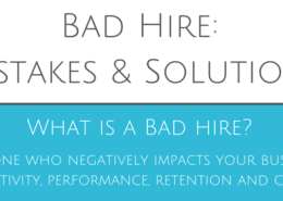 Bad Hire: Mistakes & Solutions