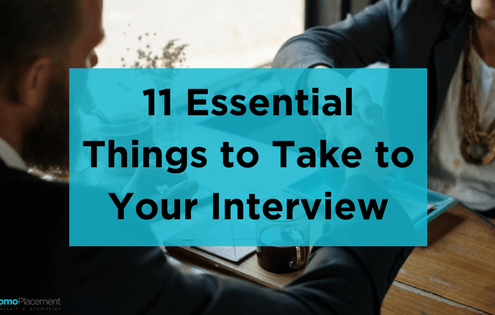 11 Essential Things to Take to Your Interview