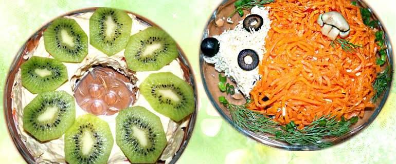 Морозовские салаты, рецепты, Морозовск