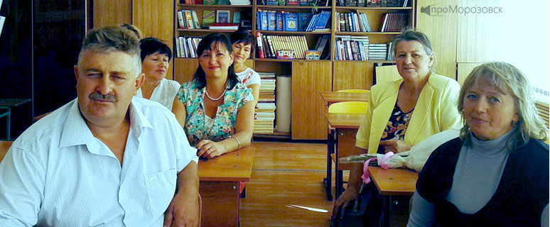 Знаменская школа, Морозовский район, Ростовская область, про Морозовск