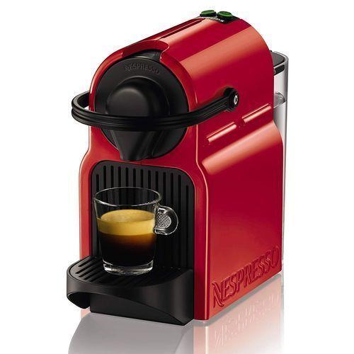 Promo : Nespresso Inissia Krups machine à café – Rouge