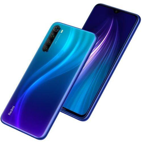 PROMOTION : XIAOMI Redmi Note 8 6.3″ – Noir – Bleu- Garantie 1 An