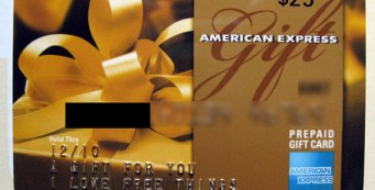 Win A $25 American Express Gift Card