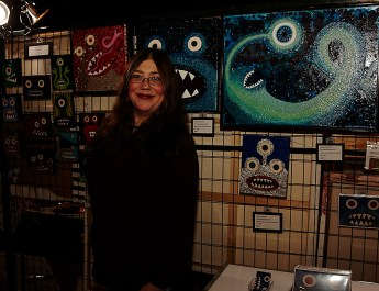 Women in Horror Month Interview with Artist Kendra Sartorelli