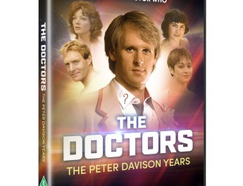 The Doctors: The Peter Davison Years and The Doctors: Heroes and Villains! Available on Double-Disc DVD on 2 November