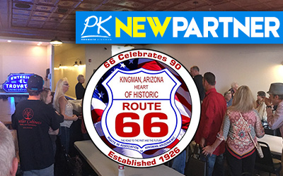 NEW PARTNER -Route 66 Association of Kingman