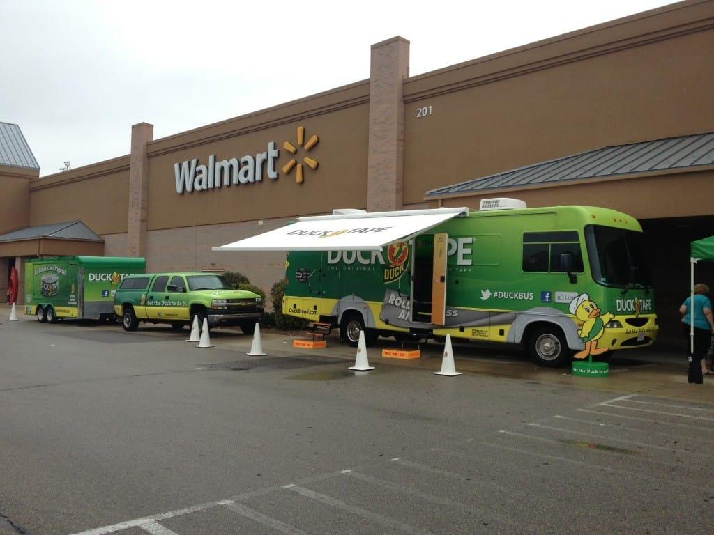 Duck RAA Walmart Vehicle Shot