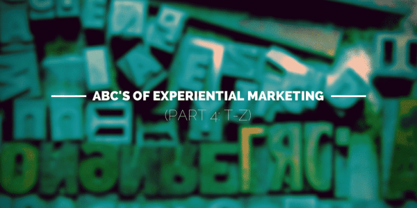 abc's of experiential marketing