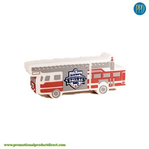 fire truck custom shaped 3D flash drive USB