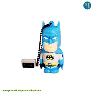 Batman custom molded shaped 3D flash drives