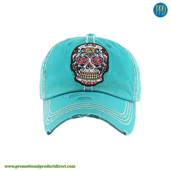 custom logo embroidered baseball hat