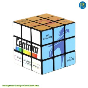 custom full color logo rubiks cube promotional product