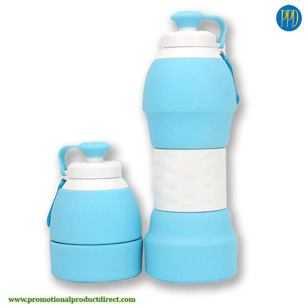 reusable-eco-friendly-collapsible-inexpensive-silicone-water-bottle--collapse
