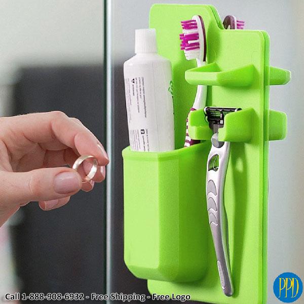 silicone shower caddy