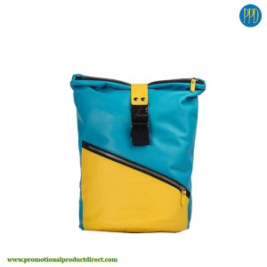 2 color laptop bag and courier bag promotional product for logo