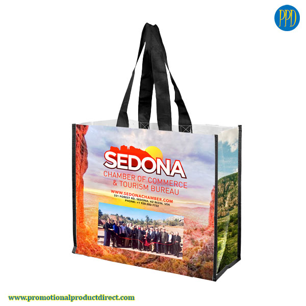 full color custom imprinted tote bags promotional products