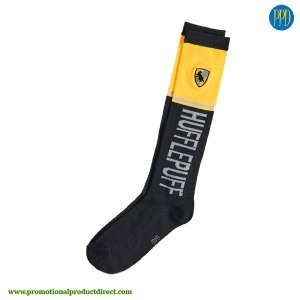 logo on custom-knit-socks promotional product