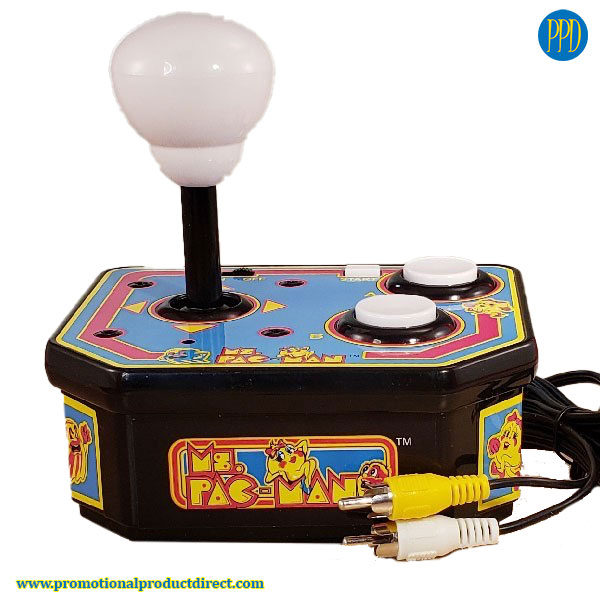pac man space invaders mini desktop game promotional product