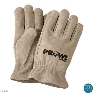 Split cowhide leather gloves LP-2101