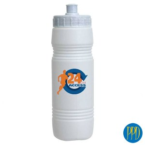 Budget BPA free water bottle.On a budget? Who isn't! Get your logo on a pop top budget sports and water bottle. Promotional Product Direct