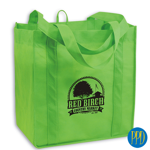 reclaimed plastic sustainable shopping bag