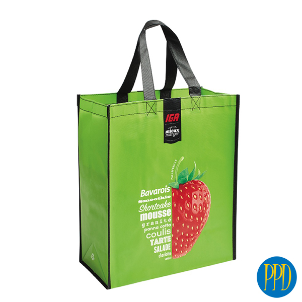 recycled plastic shopping bag