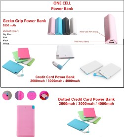 Power Bank Calelog One Cell