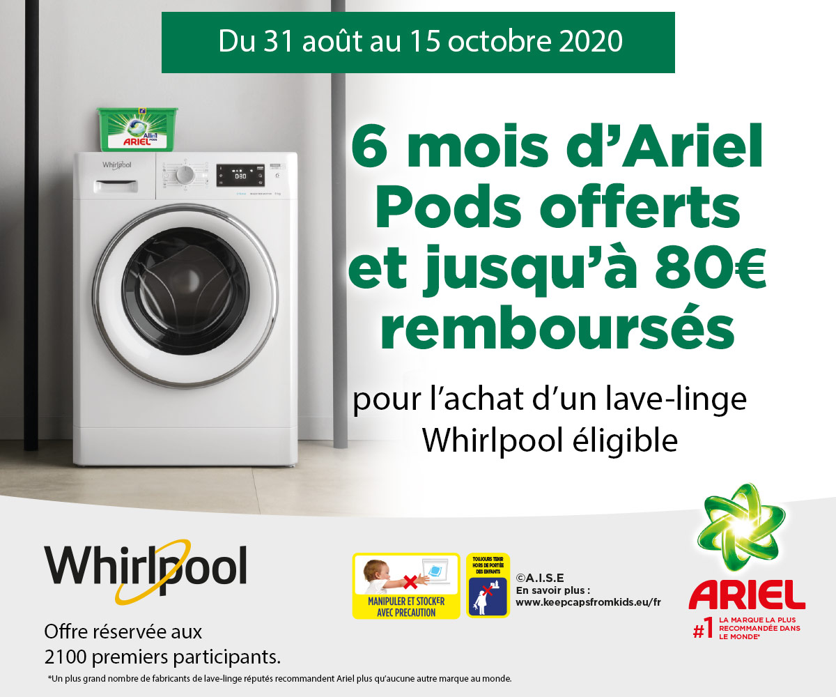Toutes Nos Promotions Whirlpool