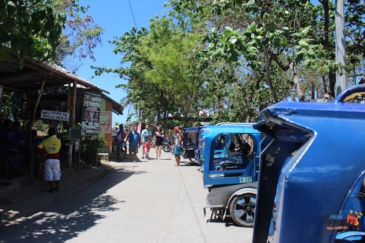 Boracay Island - Puka Beach Enterance-tuktuk
