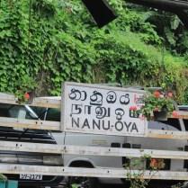 Train Ride from Kandy to Nuwara Eliya - Nanu Oya Station