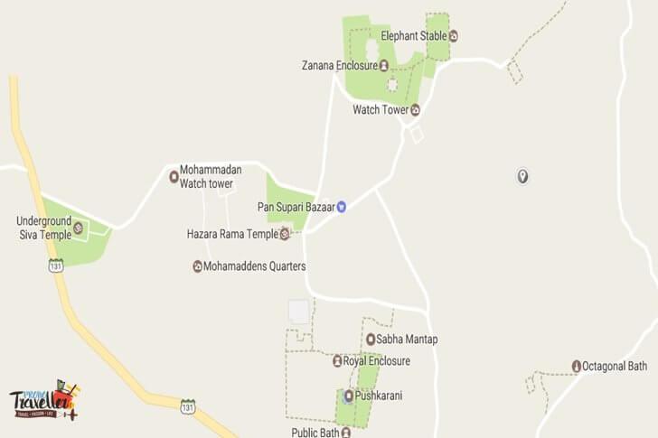 Places to Visit around Hampi - Set#2