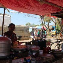 Street Side Vendor Stall, Hampi - Places to Visit around Hampi