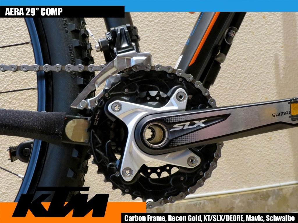 KTM Aera 29Comp Crankset