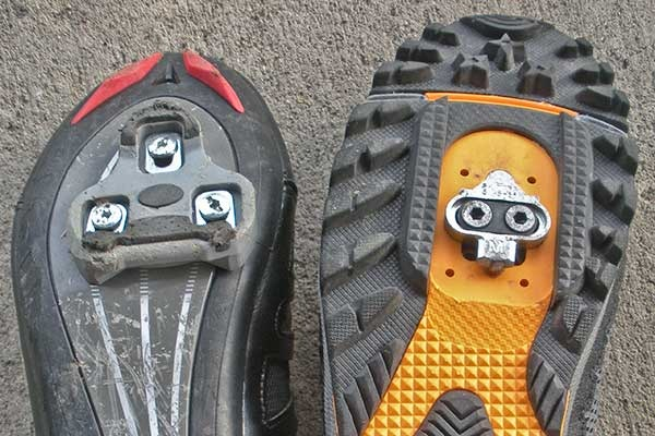 Mountain bike cleats