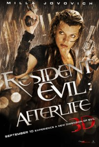 Resident Evil: Afterlife Milla Jovovich Movie Poster