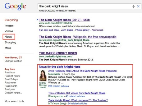 The Dark Knight Rises Google Search