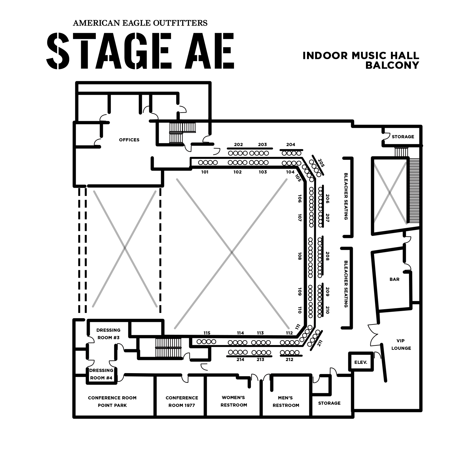 Venue Rental Stage Ae Promowest North Shore