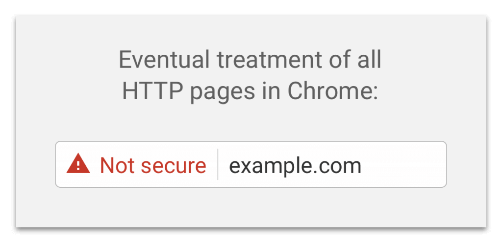 "Non-HTTPS Sites Labeled ""Not Secure"" by Chrome"