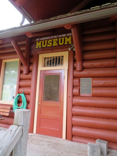 The Invermere Museum is housed in Invermere's former train station (Photo © 2016 by V. Nesdoly)
