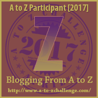 #AtoZChallenge (April 2017) — Z!