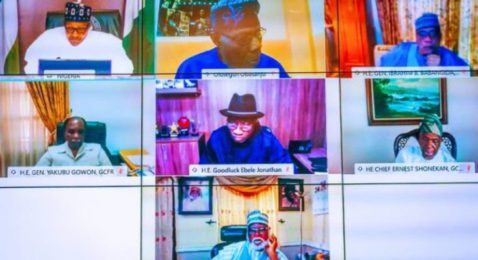 How EndSARS Protest Was Hijacked, Buhari Tells Gowon, Obasanjo, Others