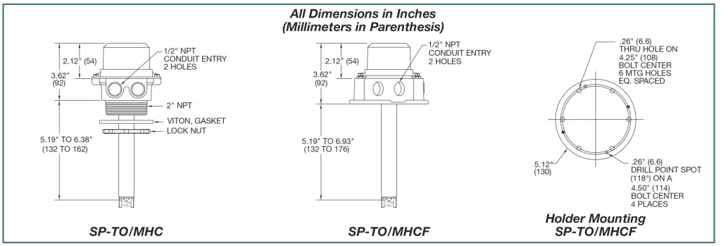 2wire-All Dimensions