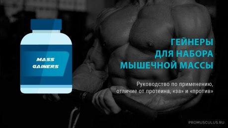 Гейнеры для набора мышечной массы: отличия от протеин, как принимать, как приготовиться самому в домашних условиях