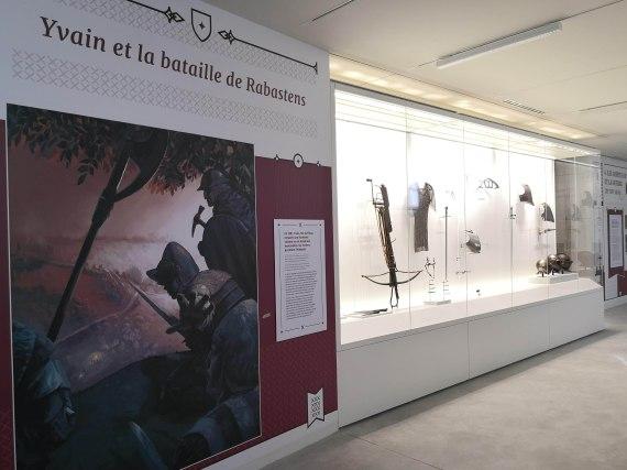Vitrines patrimoniales Foix