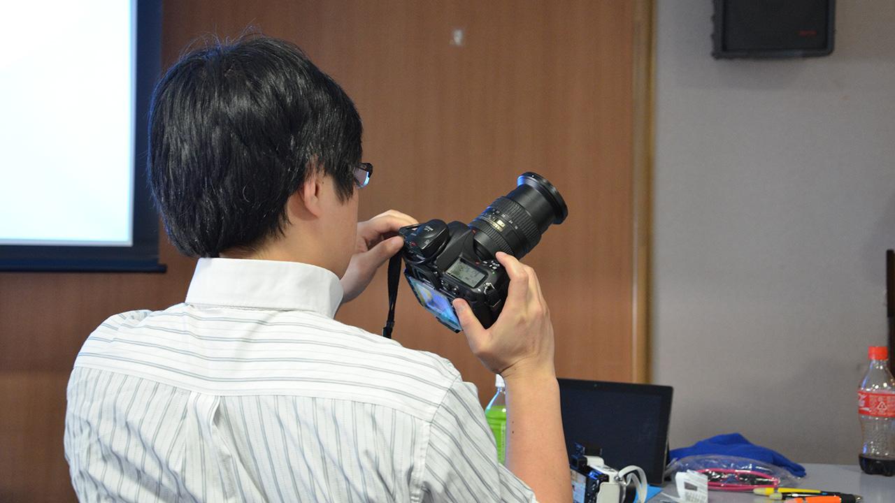 勉強会 カメラ