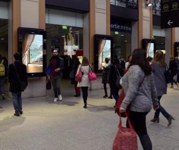 Voyages impressionnistes en gare Saint-Lazare