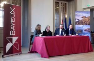Conférence de presse Bayeux © D Saussey