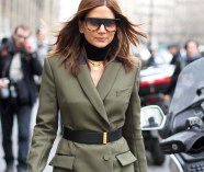 clochet-outfit-streetstyle-paris-fashion-week-christine-centenera-military-dress-3