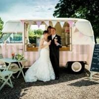 Tendência gourmet: carrinhos de comida em casamentos!